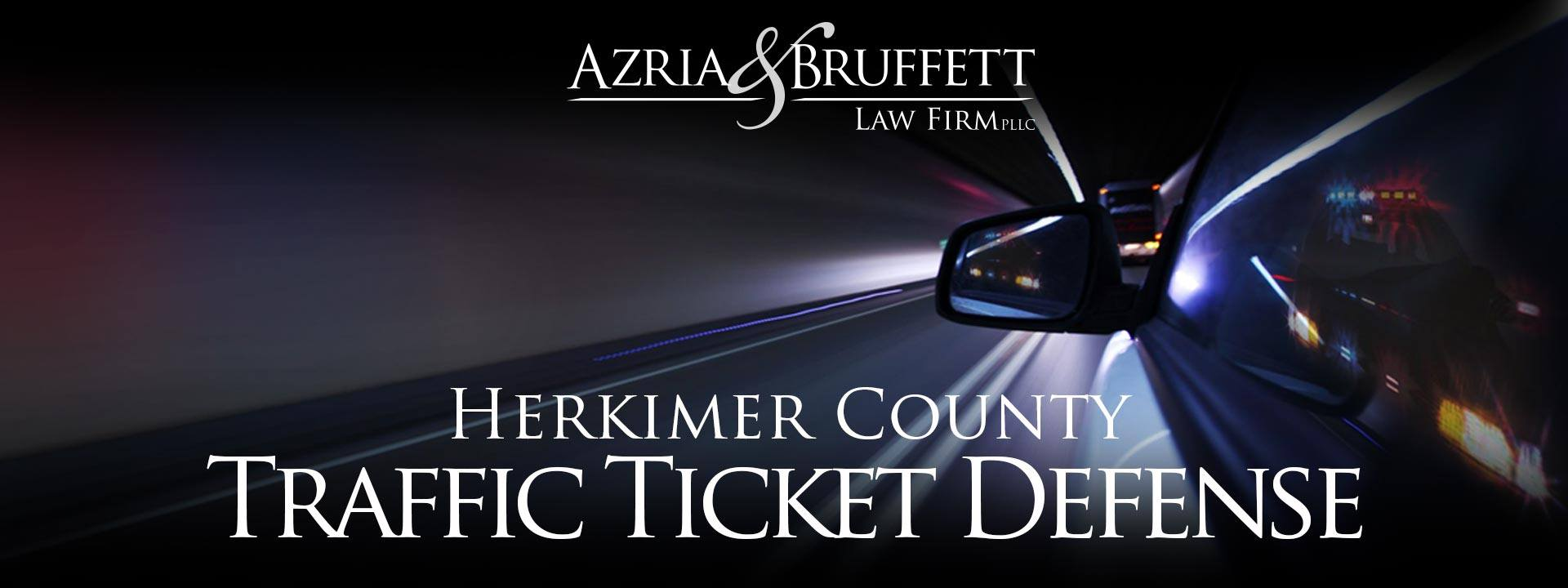 Herkimer New York Speeding Ticket Attorneys